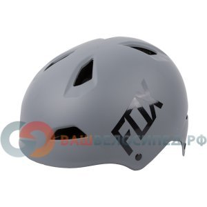 Велошлем Fox Flight Hardshell Helmet, серый