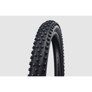 Велопокрышка Schwalbe Performance Ice Spiker Pro, 26x2.10 (54-559), RaceGuard\Winter\361 шип, черный, 11100937